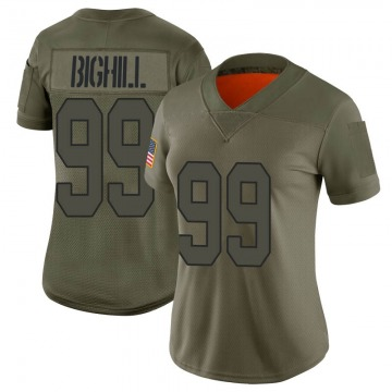 Women's New Orleans Saints Adam Bighill Camo Limited 2019 Salute to Service Jersey By Nike