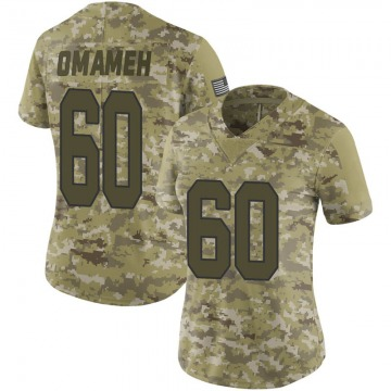 Women's New Orleans Saints Patrick Omameh Camo Limited 2018 Salute to Service Jersey By Nike