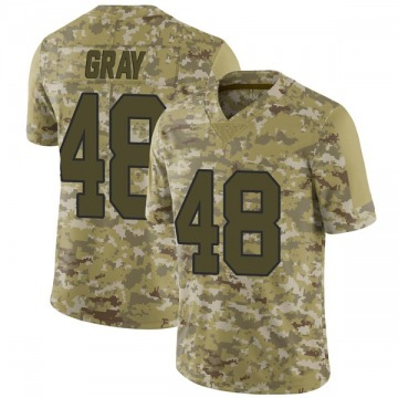 Youth New Orleans Saints J.T. Gray Camo Limited 2018 Salute to Service Jersey By Nike