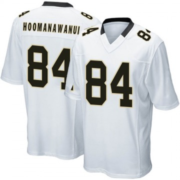 Youth New Orleans Saints Michael Hoomanawanui White Game Jersey By Nike