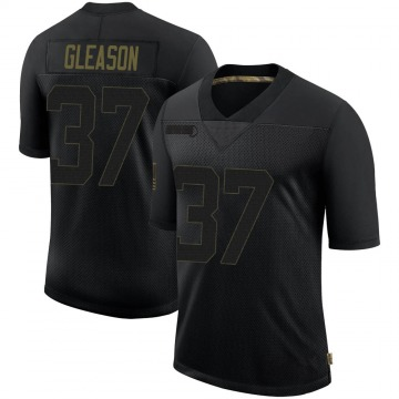Youth New Orleans Saints Steve Gleason Black Limited 2020 Salute To Service Jersey By Nike